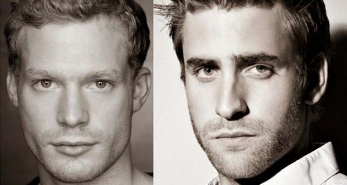 Sam Reid and Oliver Jackson Cohen